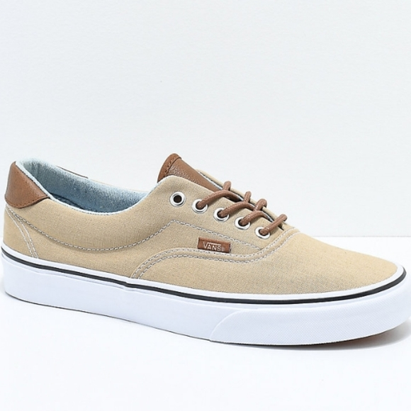Vans Other - Vans Era 59 Mens Khaki Brown Low Top Shoes